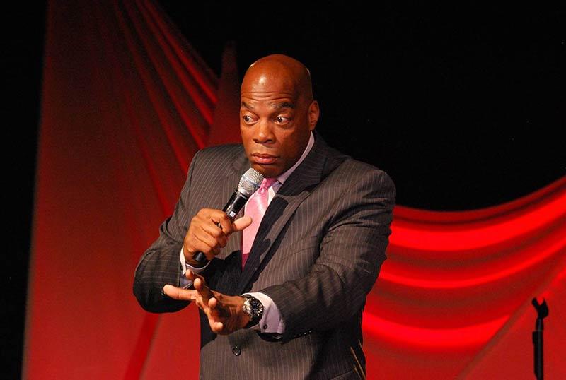 Alonzo Bodden, Comedian