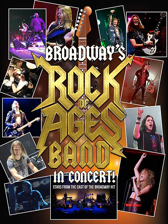 Broadways Rock of Ages Band